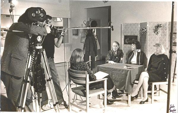 Fisksätra Bibliotek Agneta Gino berg TV intervju 1976.jpg