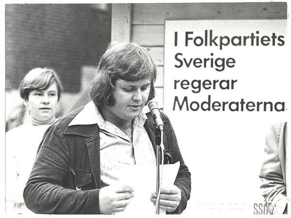 Fisksätra Torg Lundholm, Alf aktör mån SSU och ABF åren 1974-90.jpg
