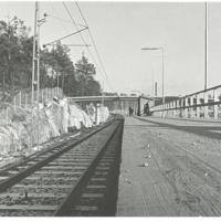 Den nya provisoriska Perrongen Fisksätra ska 1973 Foto Kent Dahl.jpg