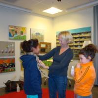 Orm från Skansen på Fisksätra bibliotek