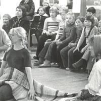 Finsk barnteater på Fisksätra bibliotek