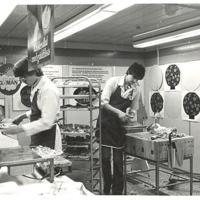 I Fisksätra Provisorisk ICA affär 1973 2 Fotogruppen Kent Dahlin.jpg