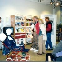 Besökare från 25 års firandet